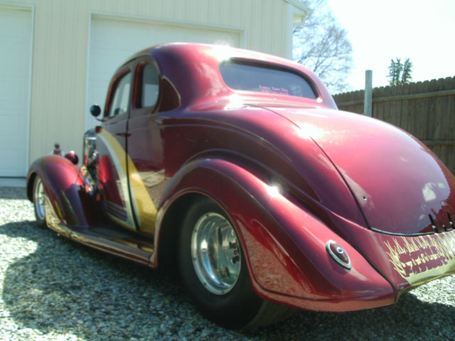 1936 plymouth 5 window coupe pro street hot rod for 1936 plymouth 5 window coupe sale