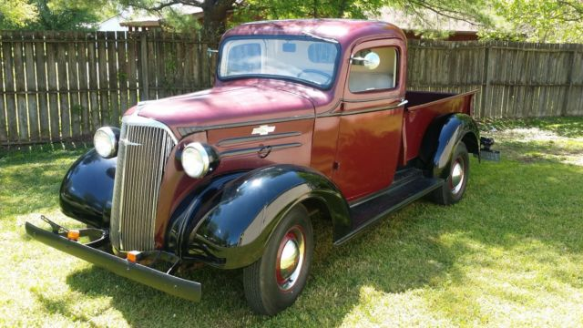 1937 Chevy 1 2 Ton Pick Up Truck