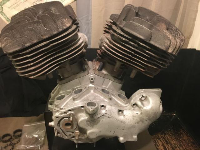 1937 Harley Davidson Big Twin U Flathead Engine Motor Ul