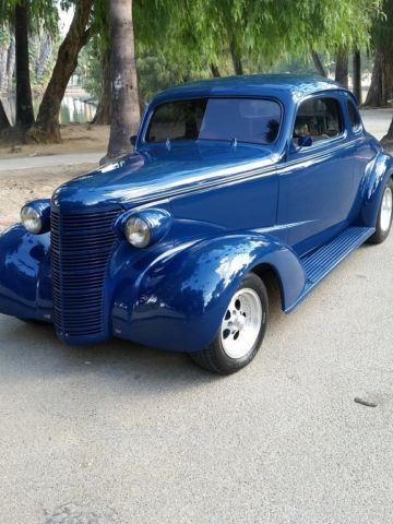 1938 38 Chevrolet Chevy Coupe Restored Classic with 383