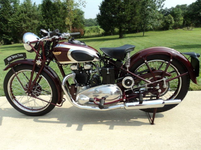 1938 Speed Twin 5t Triumph Motorcycle