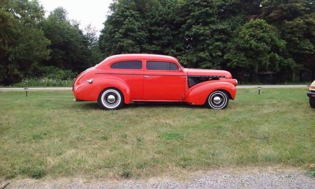 1940 chevy 2 door sedan chop top street rod mustang ii front end 355 motor. Black Bedroom Furniture Sets. Home Design Ideas
