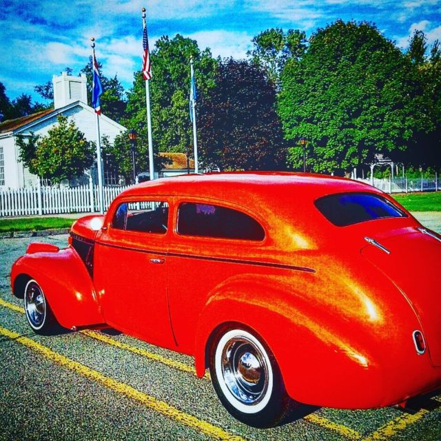 1940 chevy 2 door sedan chop top street rod mustang ii for 1940 chevrolet 2 door sedan