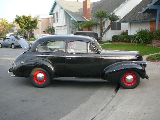 1940 Chevy 2 door Town Sedan