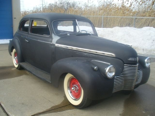 1940 Chevy ALL STEEL,2 door, Hot Rod  no reserve auction