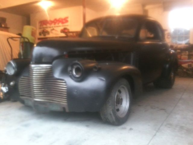 1940 Chevy coupe, pro street, rat rod, custom built, great project