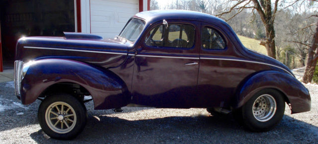 1940 ford deluxe 2 door coupe street rod gasser pro street for 1940 ford deluxe two door business coupe
