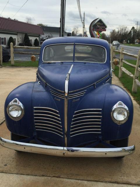 1940 plymouth 4 door sedan runs good no reserve for 1940 plymouth 2 door sedan