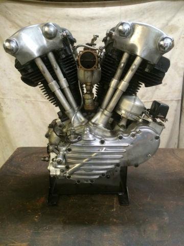 1941 Harley Davidson EL Knucklehead Engine (Flathead Panhead)