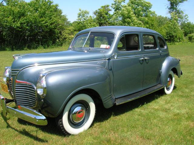 1941 plymouth special deluxe 4 door sedan For1941 Plymouth Deluxe 4 Door
