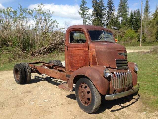 1942 Chevrolet COE Cabover Cab and Chassis Chevy 41 46 47