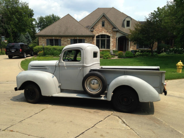 1946 ford truck 1/2 ton, 1969 straight-six engine, brand new wiring, dash, brake 1954 ford truck wiring diagram