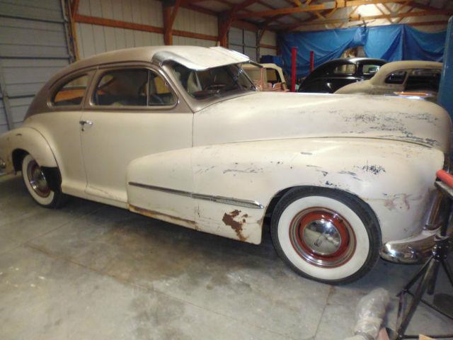 1947 oldsmobile original solid fastback 2 door club sedan for 1947 oldsmobile 4 door sedan