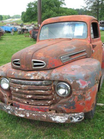 1948 1949 1950 Ford F1 Pickup Truck