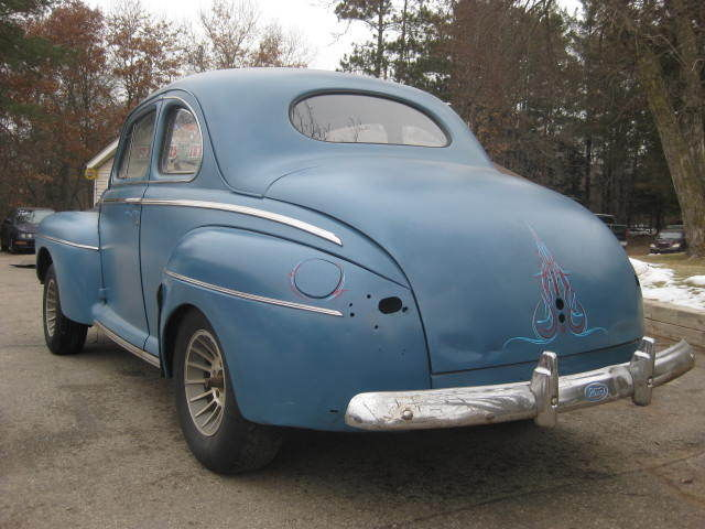 1948 Ford Coupe 1946 1947 Rat Rod 32 33 34 Chevy