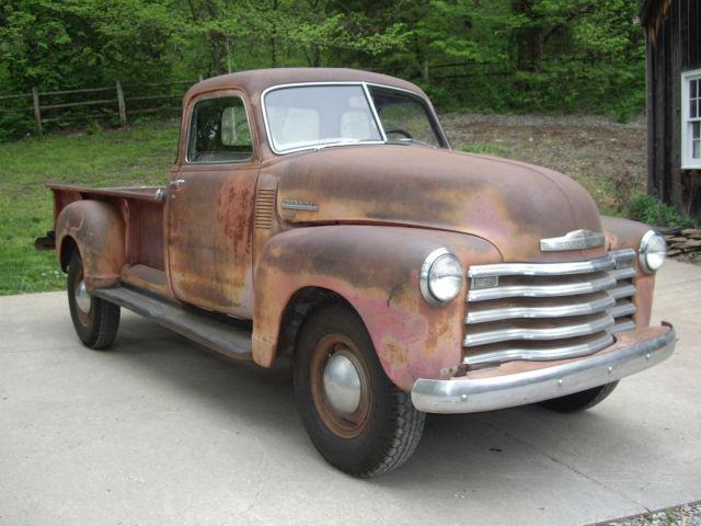 1949 chevy 3800 1 ton pickup survivor unrestored 5 window deluxe third owner. Black Bedroom Furniture Sets. Home Design Ideas