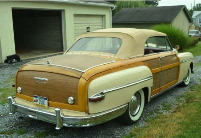 1949 Chrysler Other Woody
