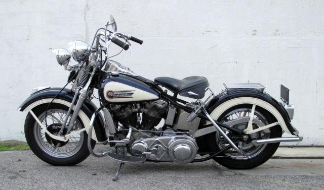 Harley Davidson: 1949 Harley-Davidson Panhead EL ELP Springer
