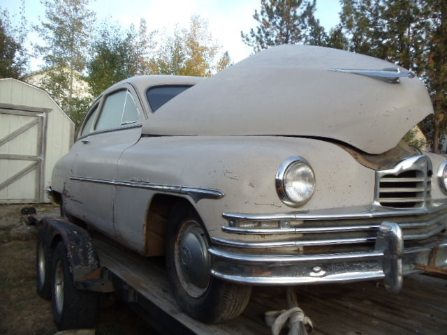 1950 2dr Packard Fastback Deluxe
