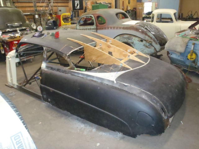 1950 hudson commodore hot rod project car. Black Bedroom Furniture Sets. Home Design Ideas