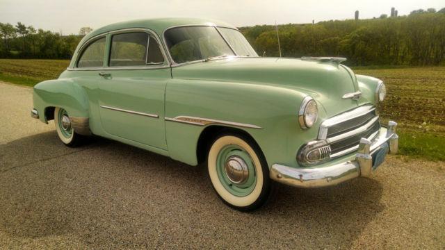 1951 chevrolet deluxe 2 door sedan for 1951 chevy 2 door coupe