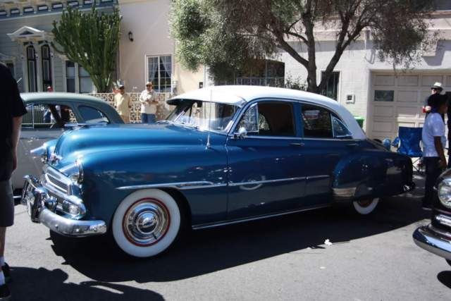 1951 chevy styleline deluxe for sale
