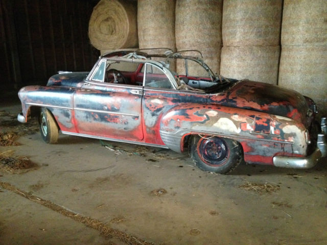 1952 Chevy Convertible Coupe Parts