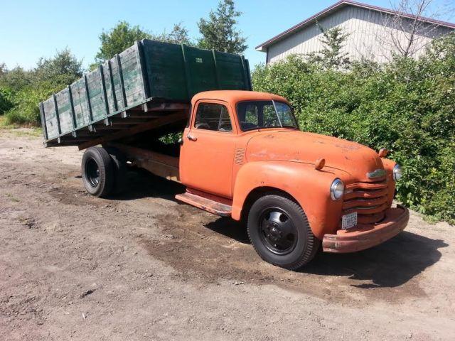 1952 Chevy Truck Pickup Semi Rat Rod Dually 47 48 49 50 51 53