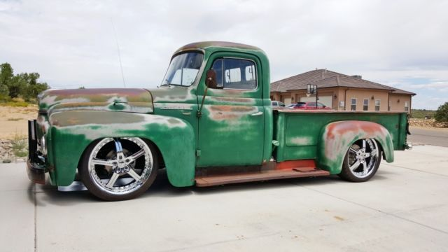 1952 international l 110 rat rod truck hot rod f100 c10 patina