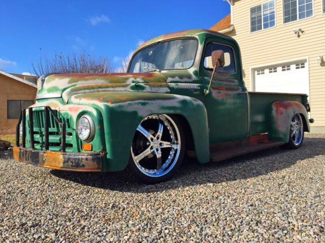1952 international l 110 rat rod truck hot rod f100 c10 patina