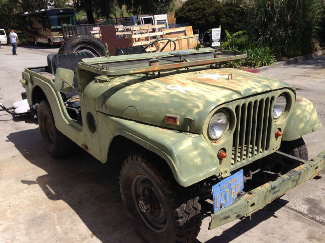 1952 Jeep Willys M38 M38a2 Korean War Seoul Survivor Complete