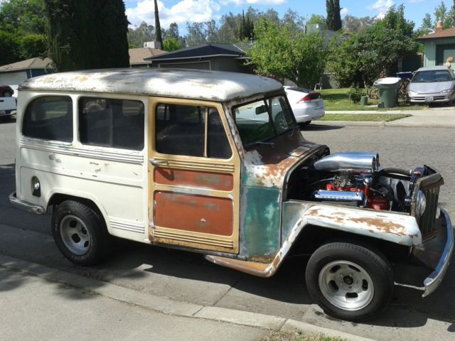 1952 patina willys wagon