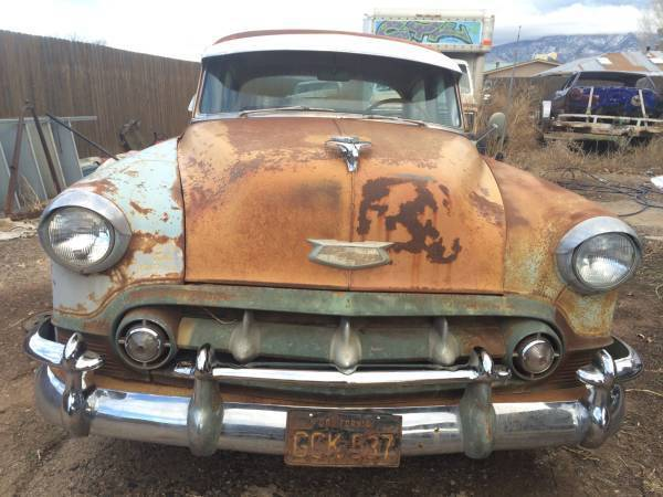 summary \u003e 1953 1954 chevrolet technical info1953 1954 chevy chevrolet belair lowrider rat rod patina