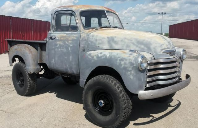 1953 chevrolet 5 window cab pickup 4x4 350 v8 automatic for 1953 chevy 5 window pickup