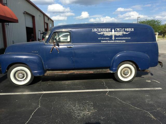 1953 Chevrolet C 3800 1 Ton Panel Truck