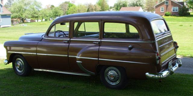 1953 Chevy 210 Handyman Wagon Engine And Transmission