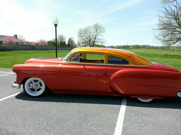 1954 Chevrolet Lead Sled Hot Rod Custom Bel Air Street Rod