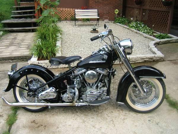 1954 Harley Davidson 50th anniversary panhead