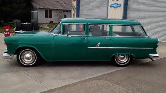 1955 chevrolet 150 4 door station wagon for 1955 chevy 4 door wagon