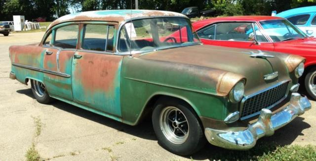 1955 Chevy Hot Rod Street Rod Rat Rod Patina 4 Door