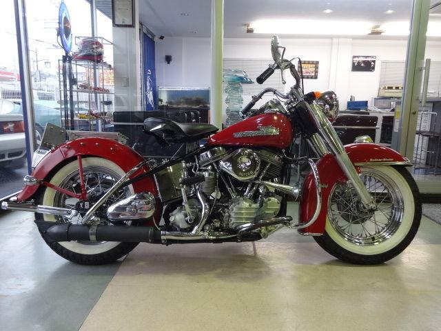 1955 Harley Fl Panhead Hydraglide Original Paint