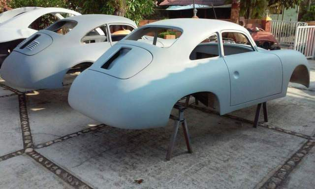 1955 porsche 356 coupe replica kit car. Black Bedroom Furniture Sets. Home Design Ideas