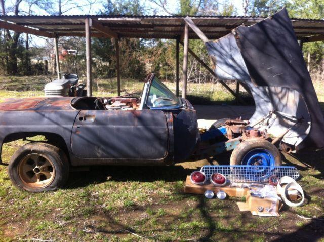 1955 Thunderbird Nostalgic Drag Car Project