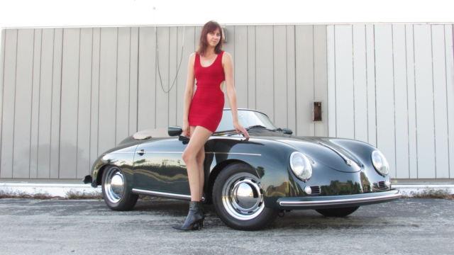 1956 1957 Porsche Speedster 356 Replica By Vintage