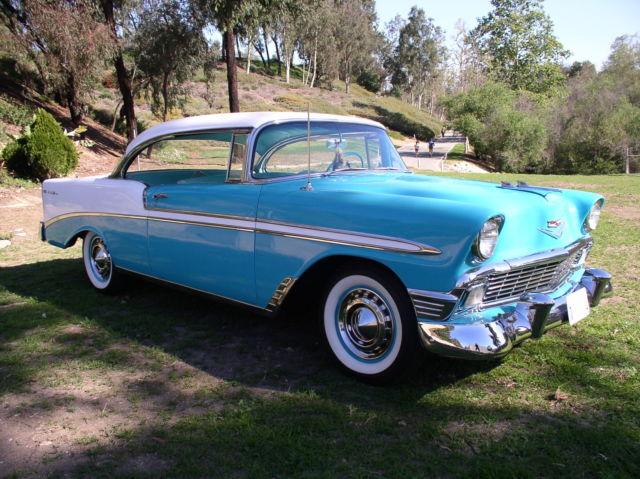 1956 chevrolet belair 2 door hardtop sport coupe nice stock original 1955 1957 - 1955 chevrolet belair sport coupe ...
