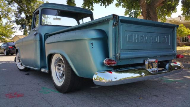 1956 Chevy Big Window Shortbed Stepside Zz4 Tilt Full