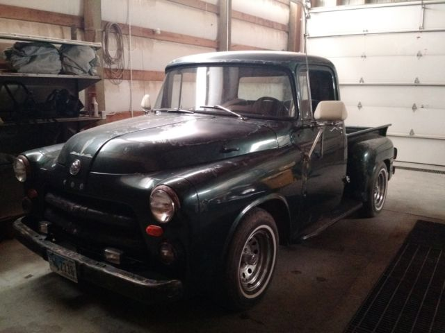 1956 DODGE LOW BOX PICKUP 318 4 SPEED