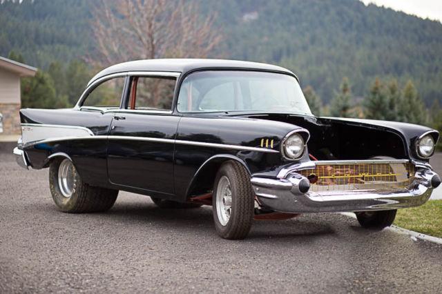 1957 Chevrolet Bel Air Belair Pro Street Hot Rod Chevy