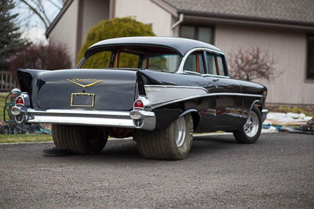 1957 chevrolet bel air pro street hot rod chevy. Black Bedroom Furniture Sets. Home Design Ideas