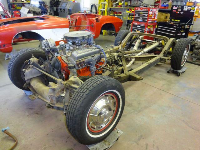 1958 1961 Corvette Chassis Complete